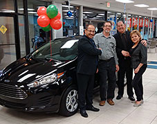 City Ford's 2016 Ford Fiesta Giveaway Winners!