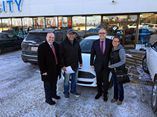 City Ford's 2016 Brand New Car Winners!