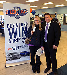 OILERS DAYS Winner!