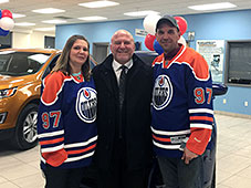 OILERS DAYS Trip to Arizona Grand Prize Winners!
