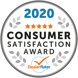 2020 Consumer Satisfaction Award