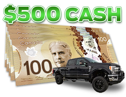 $500 Referral Cash