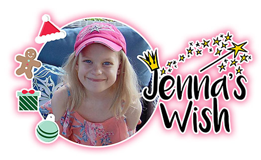 Jenna's Wish Edmonton, Alberta, Stollery Children's Hospital donations