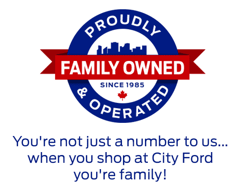 City Ford is Family Owned & Operated Since 1985