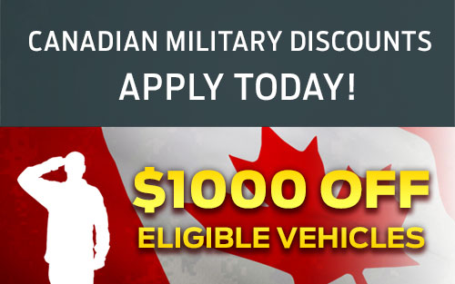 Apply for the City Ford Military Discount