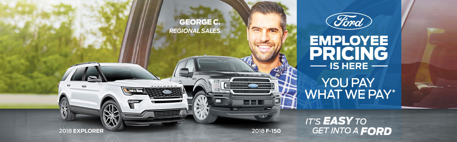 Edmonton Ford Employee Pricing Event! Including F-150s and Explorers!