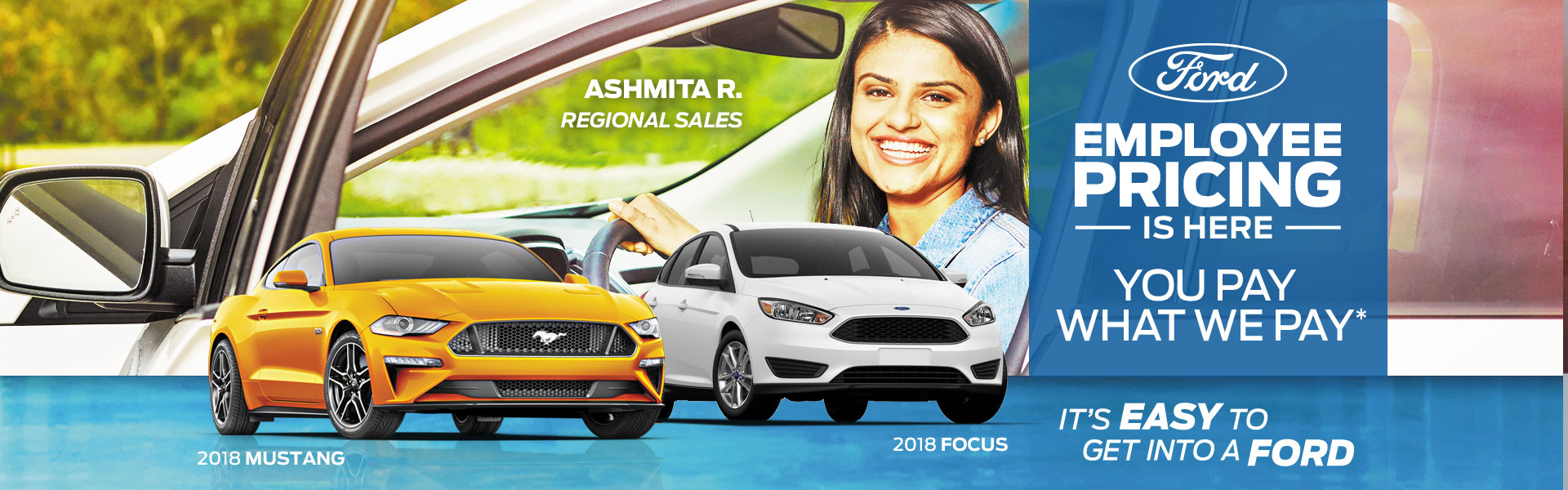 Edmonton Ford Employee Pricing Event! Including Ford Focus and Mustang!