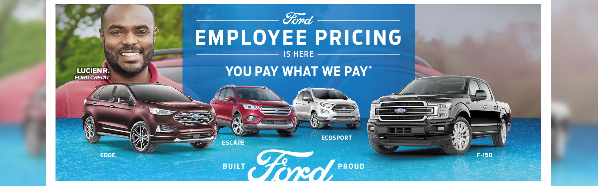 Ford Employee Pricing Sales Event