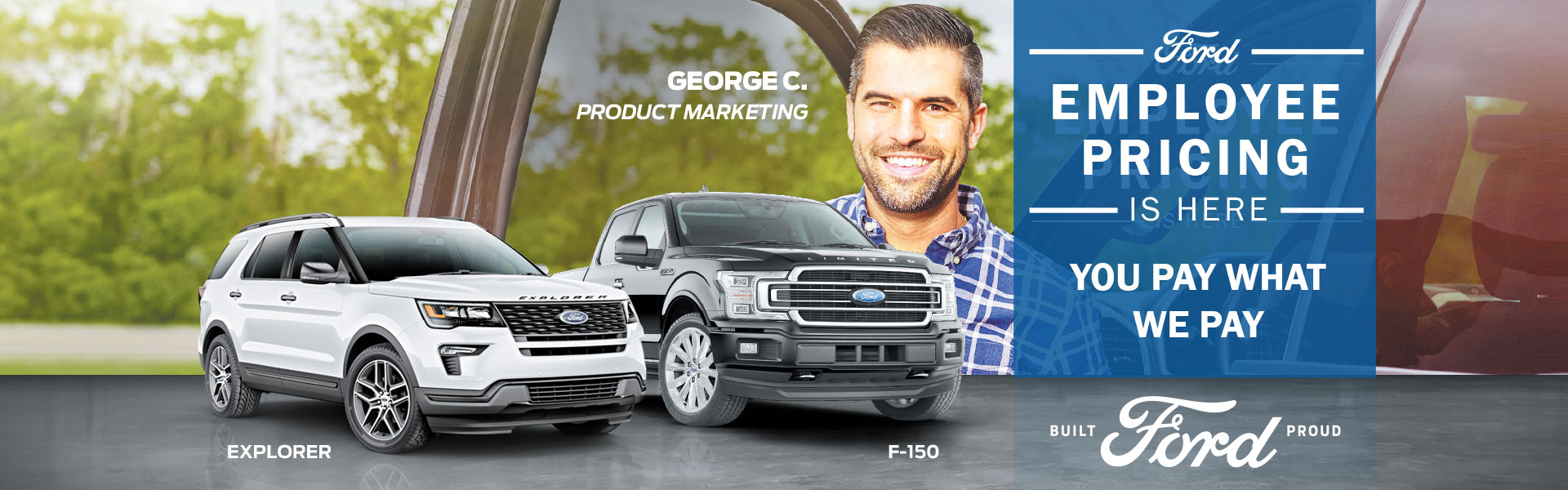 Ford Employee Pricing Sales Event F-150s & Explorer