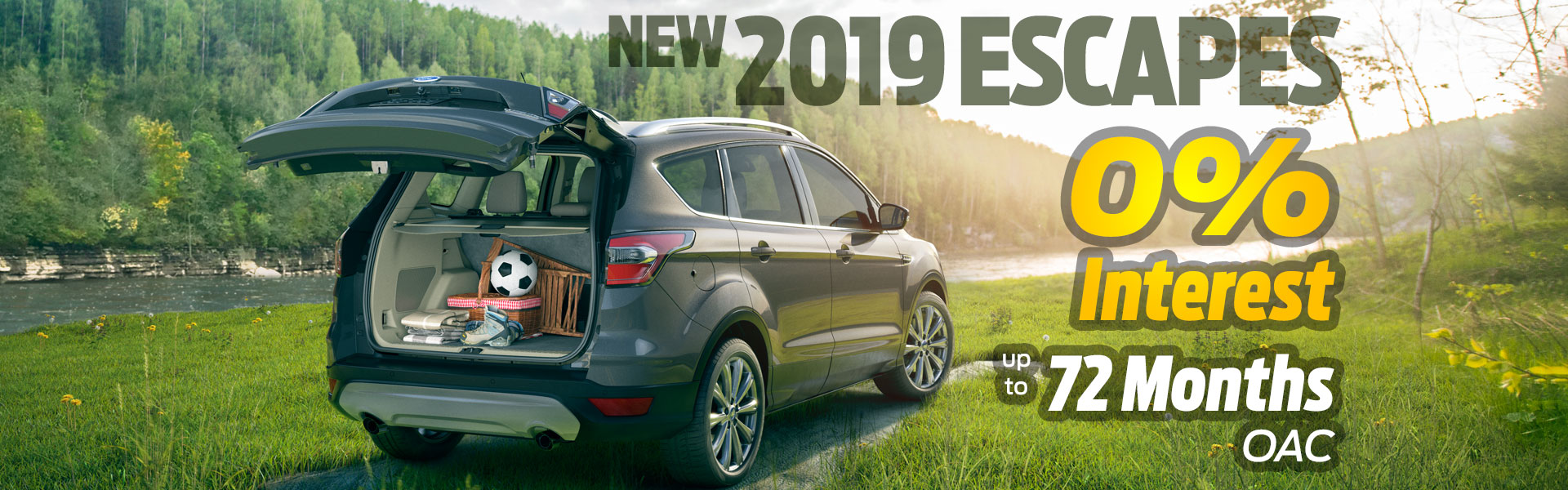 2019 Escape 0% Financing