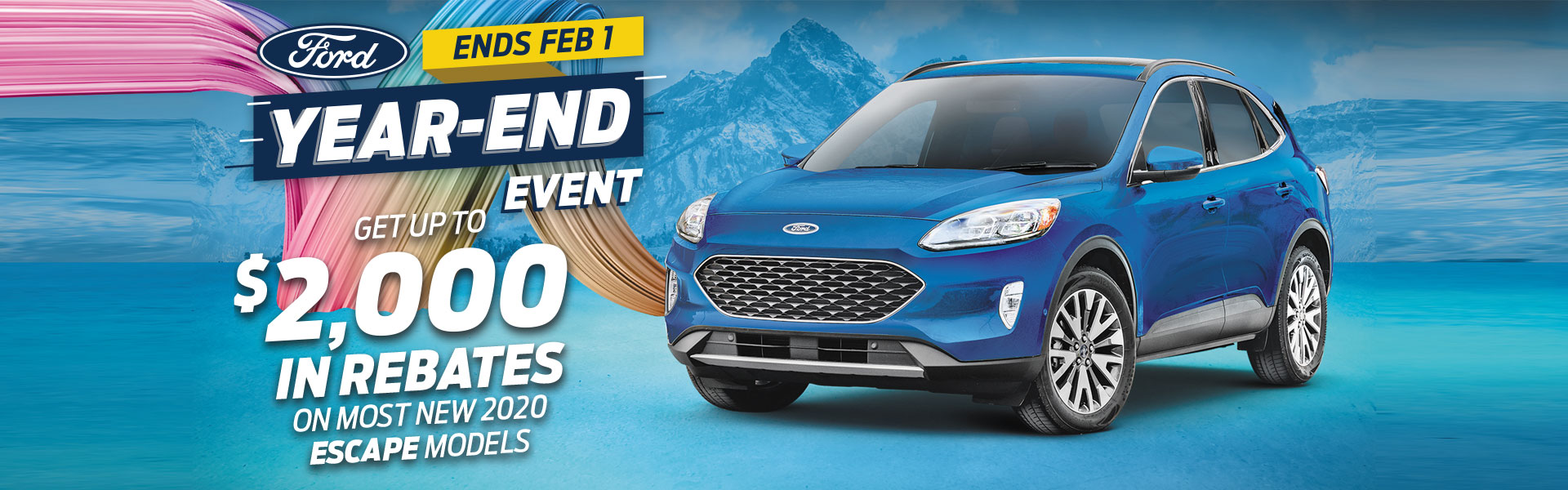 Escape Ford Year End Event