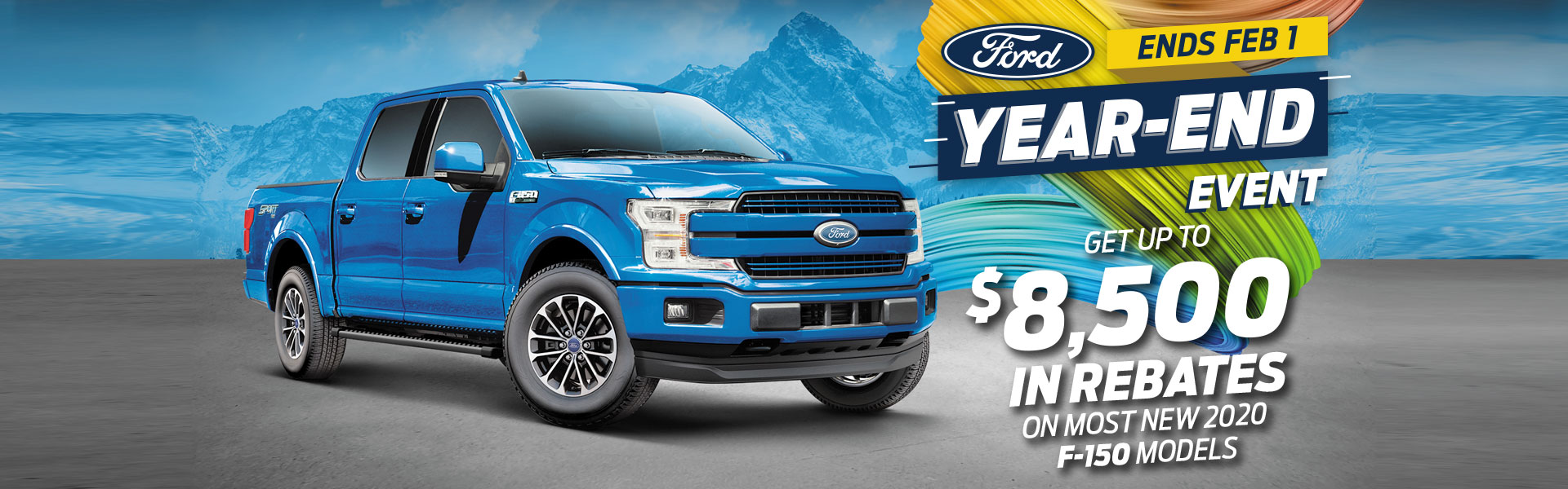 F-150 Ford Year End Event