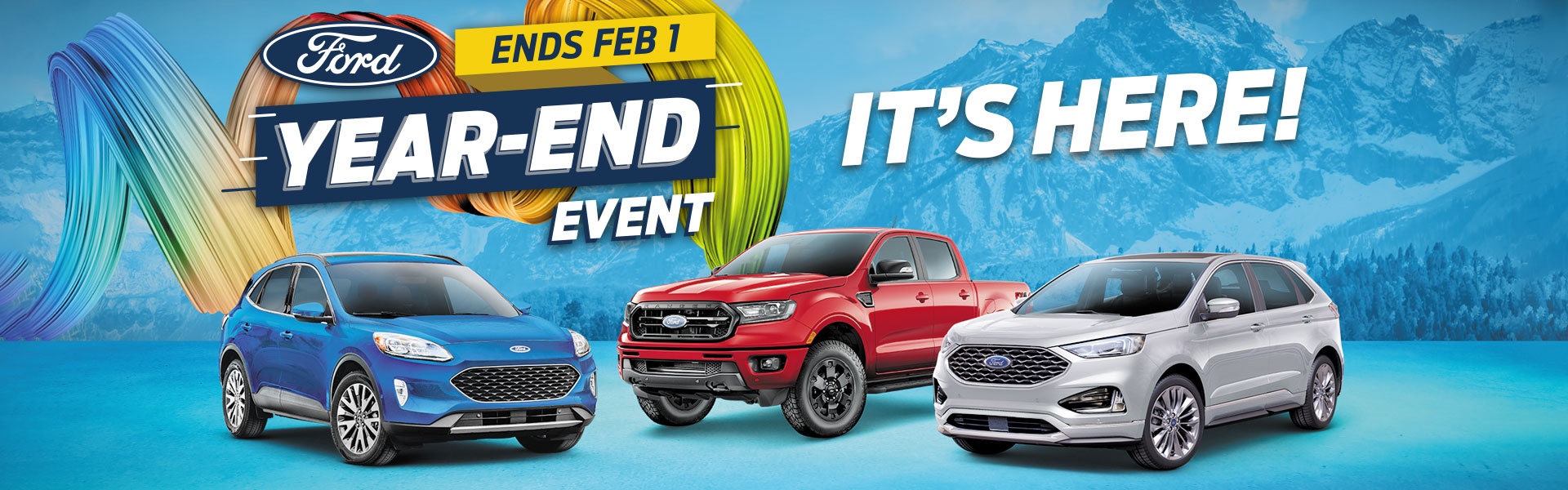 Ford Year End Event is Here!
