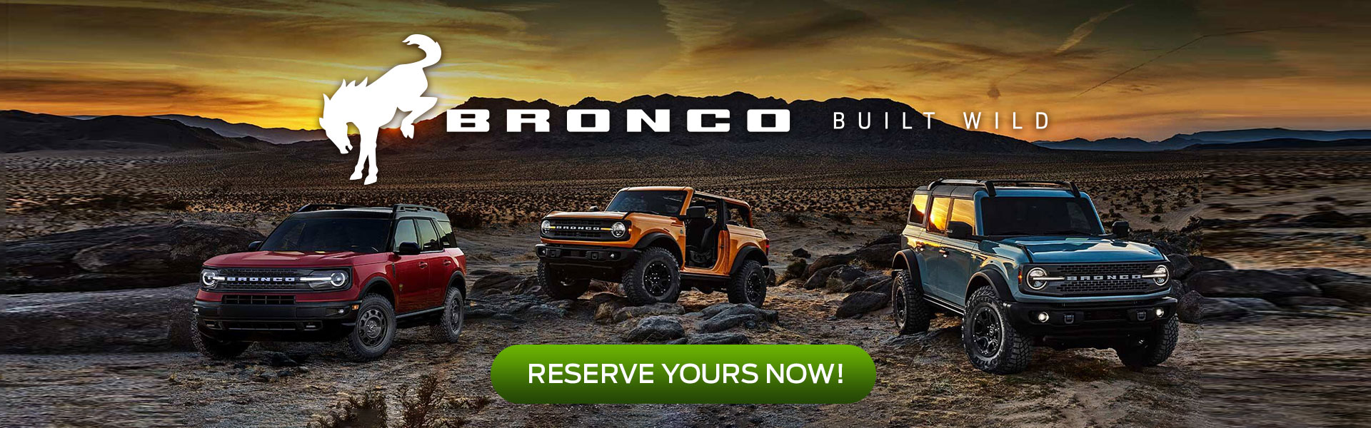 2021 Ford Bronco SUVs - BUILT WILD