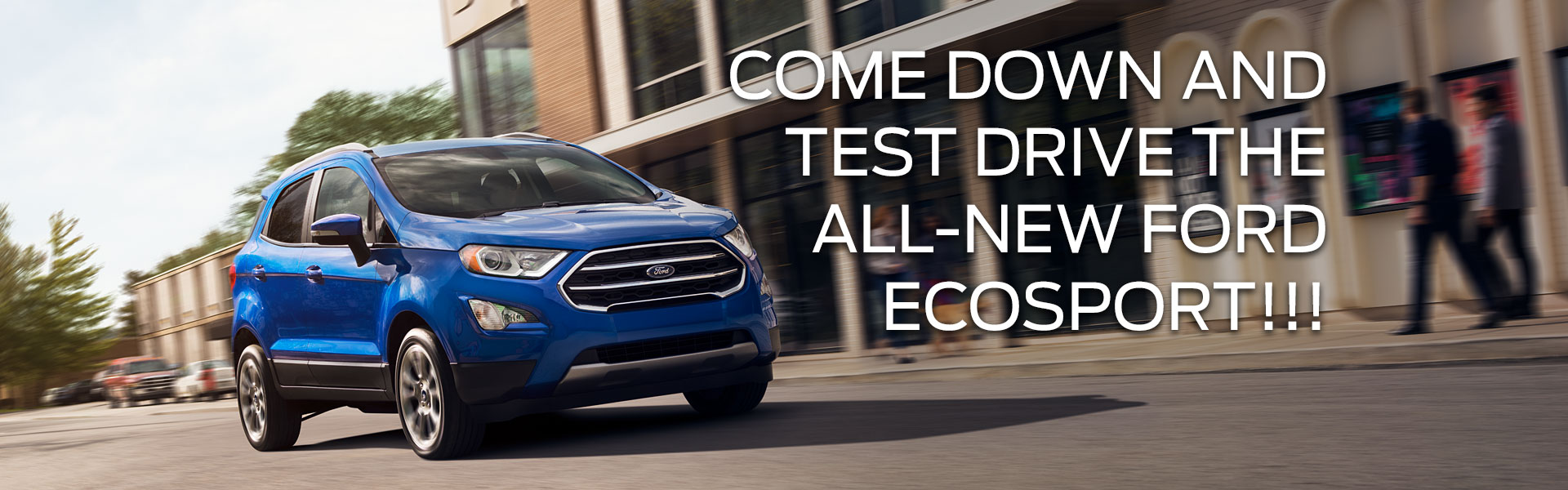 Test Drive the new EcoSport Edmonton