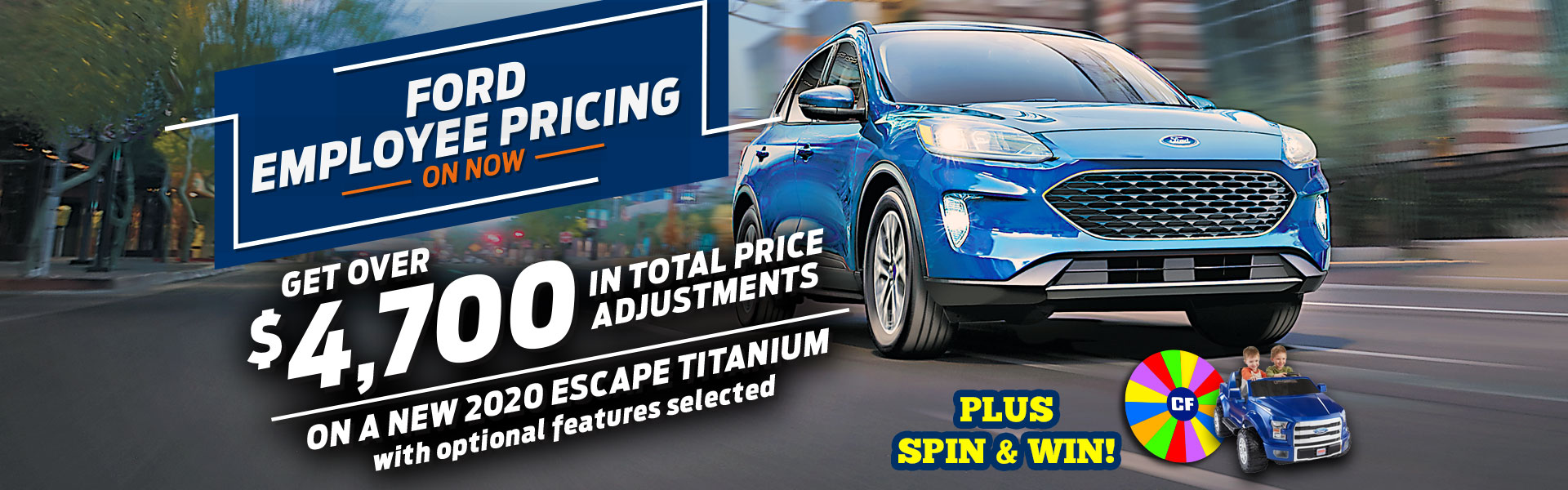 Ford Employee Pricing Escape Sale