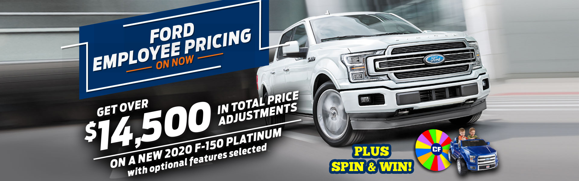 Ford Employee Pricing F-150 Sale
