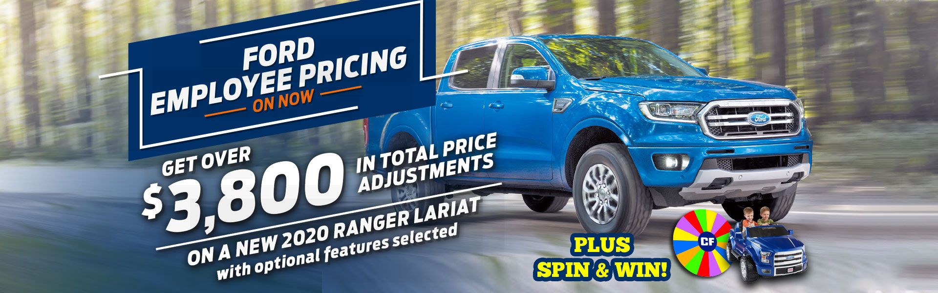 Ford Employee Pricing Ranger Sale
