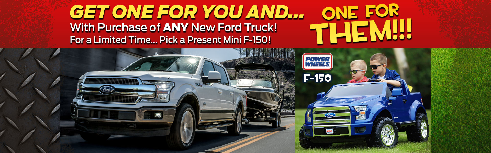 Get a Mini F-150 with New Ford Truck Purchase