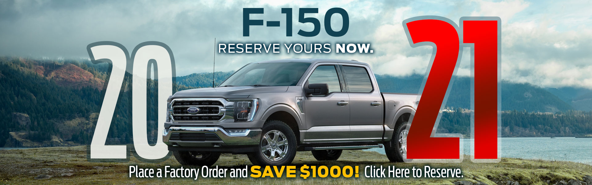 Reserve a 2021 Ford F-150 in Edmonton Today!