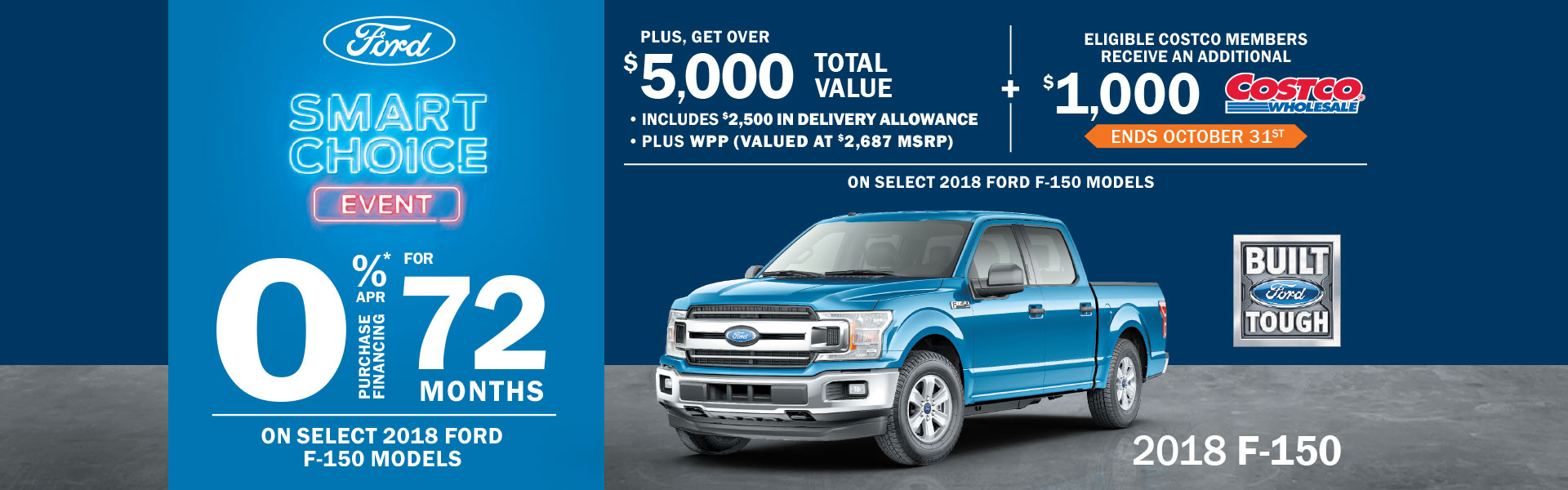 Ford Smart Choice Event F-150's